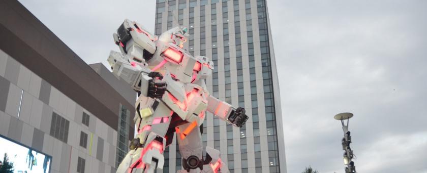 Gundam Odaiba - mẫu Gunpla đẹp nhất tỉ lệ 1:1
