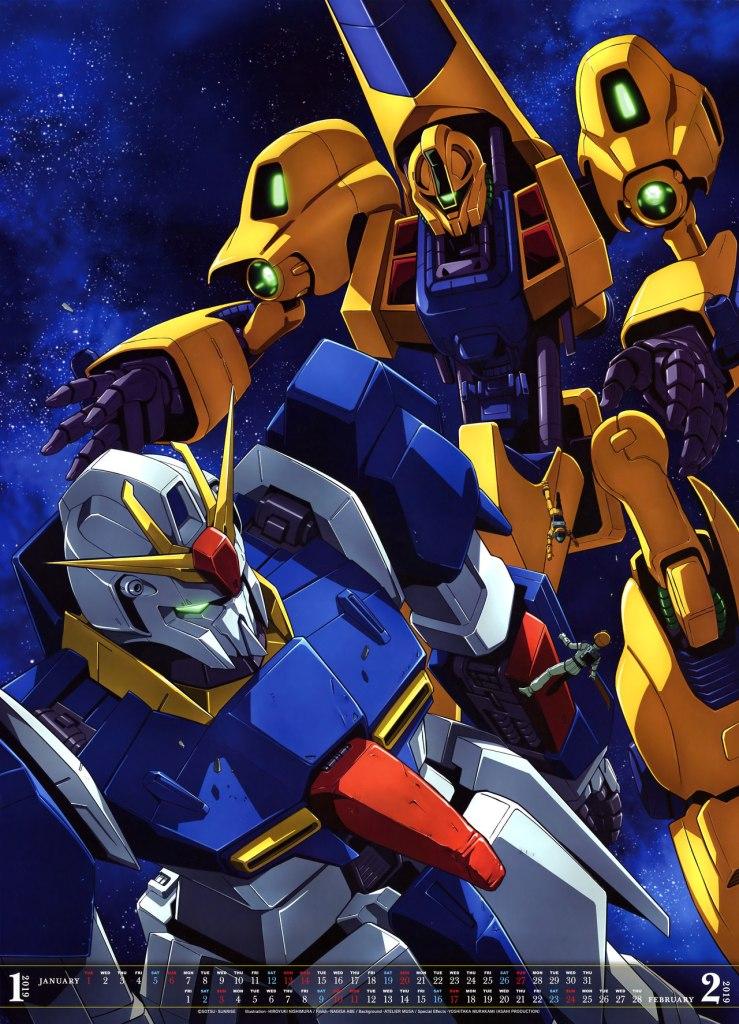 Lịch Gundam 2019 siêu đẹp