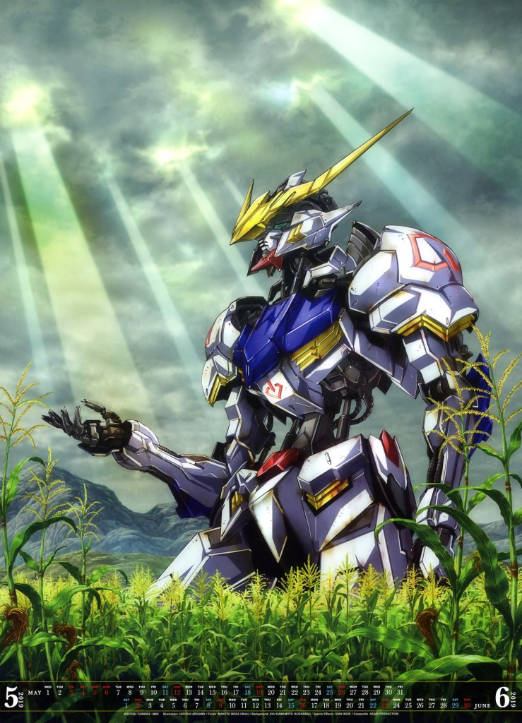 Lịch Gundam 2019 nShop