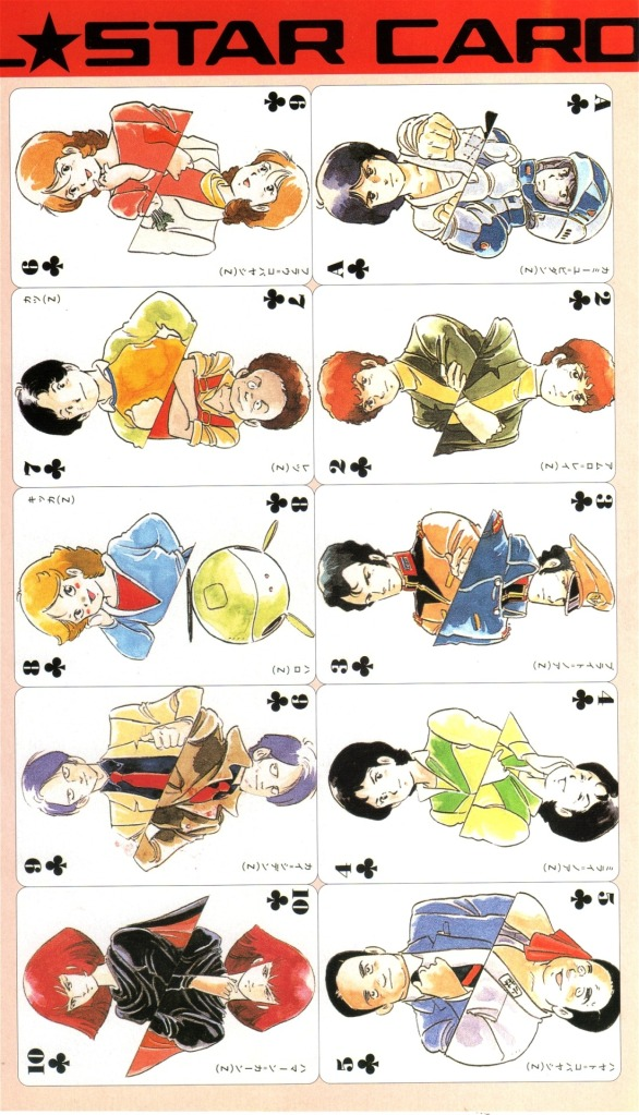 Gundam playing 54 cards in sẵn
