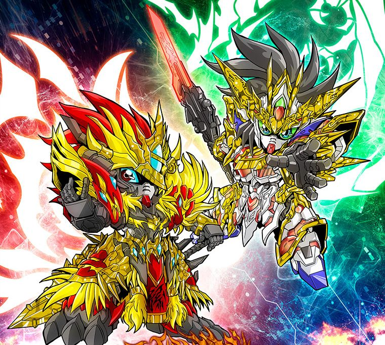 truyện manga SD Gundam World Sangoku Soketsuden Enkotan