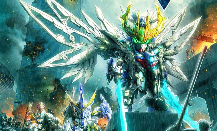 truyện tranh SD Gundam World Sangoku Soketsuden Soshoki