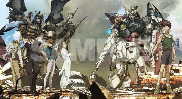 anime Gundam Wing