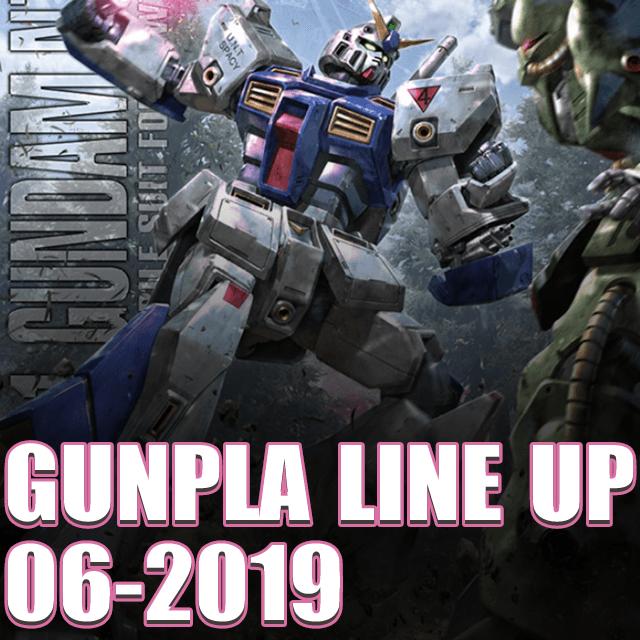 lịch phát hành gunpla gundam tháng 6 - 2019