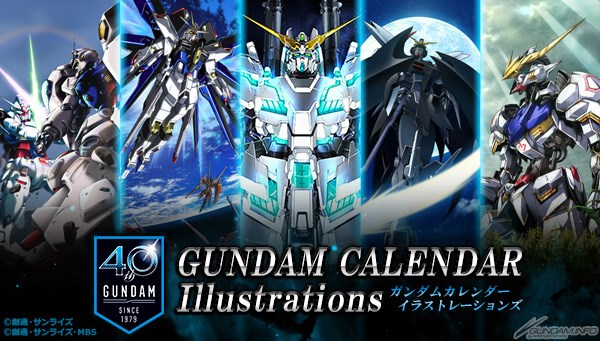 sách artbook GUNDAM CALENDAR Illustrations