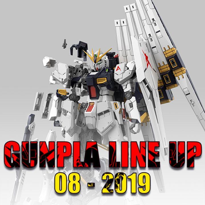 gundam gunpla mới của tháng 8 năm 2019
