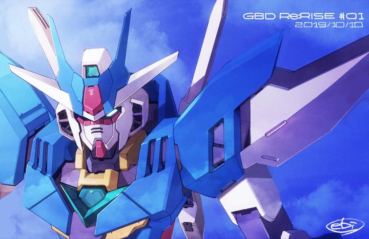 anime phim Gundam Build Divers Re: RISE