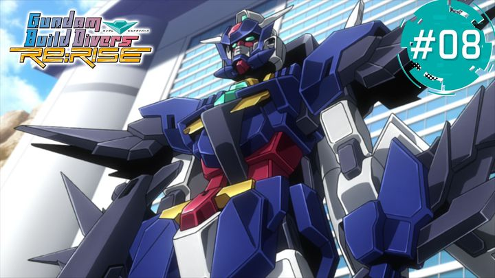 anime GUNDAM BUILD DIVERS Re-RISE mới