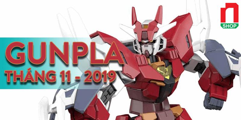 lịch phát hành gundam tháng 11-2019